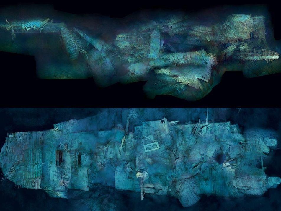 L'épave du Titanic en images