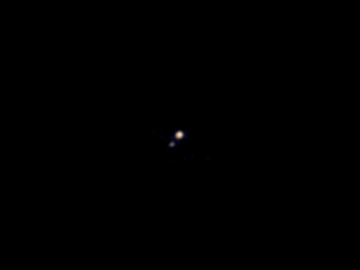 Premier aperçu de New Horizons