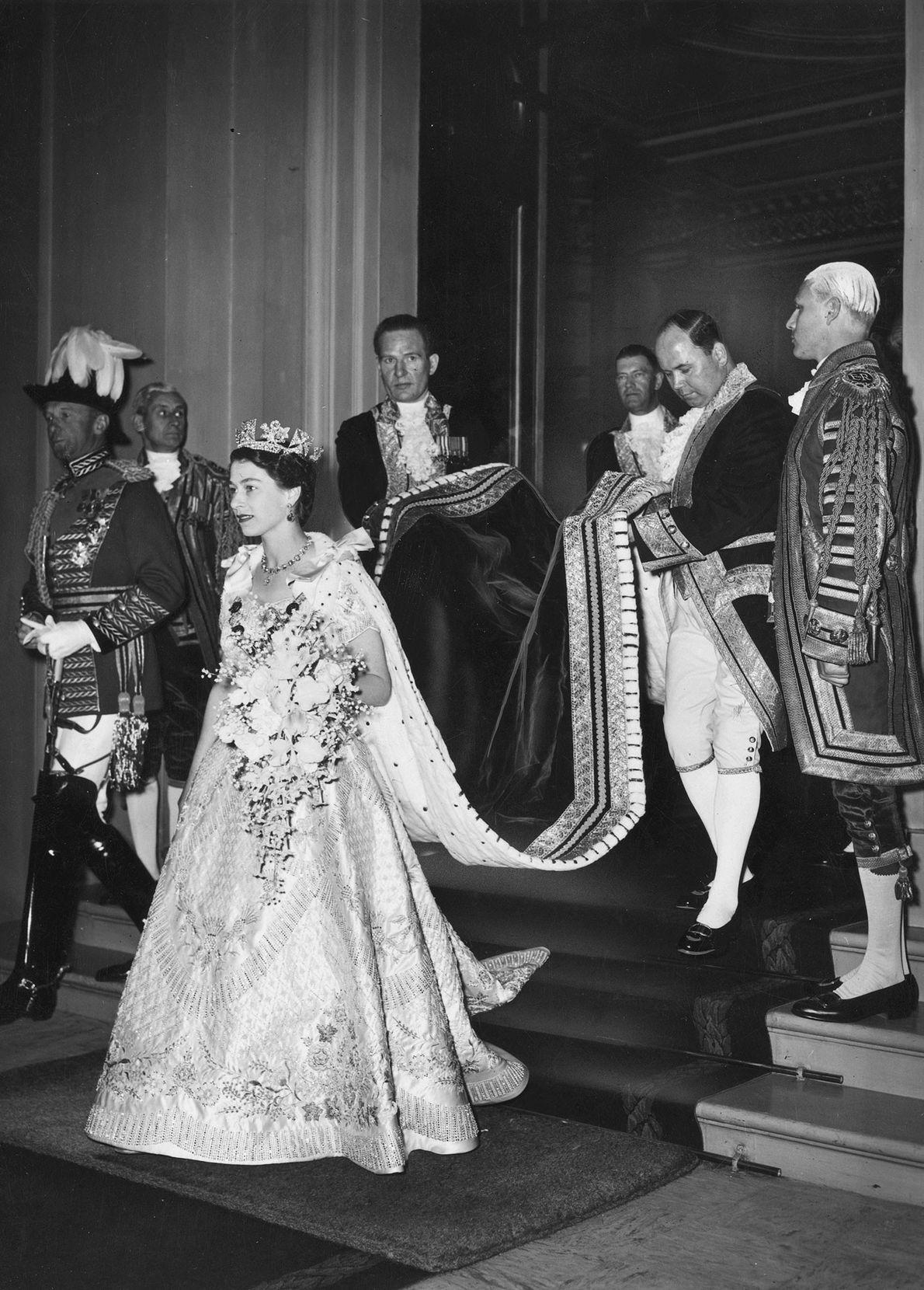 Photo de la princesse Elizabeth