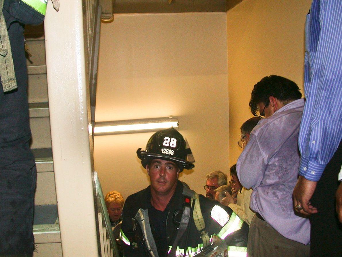 Être pompier le jour du 11 septembre