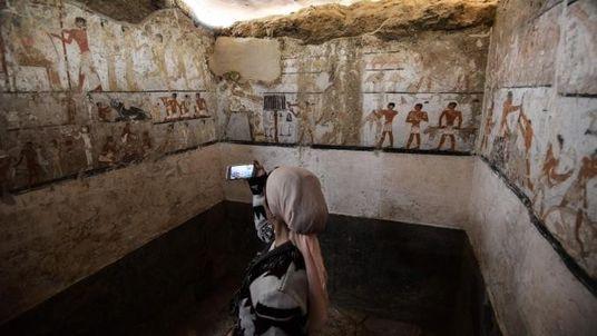 Découverte du tombeau d'une grande prêtresse de l'Égypte Ancienne