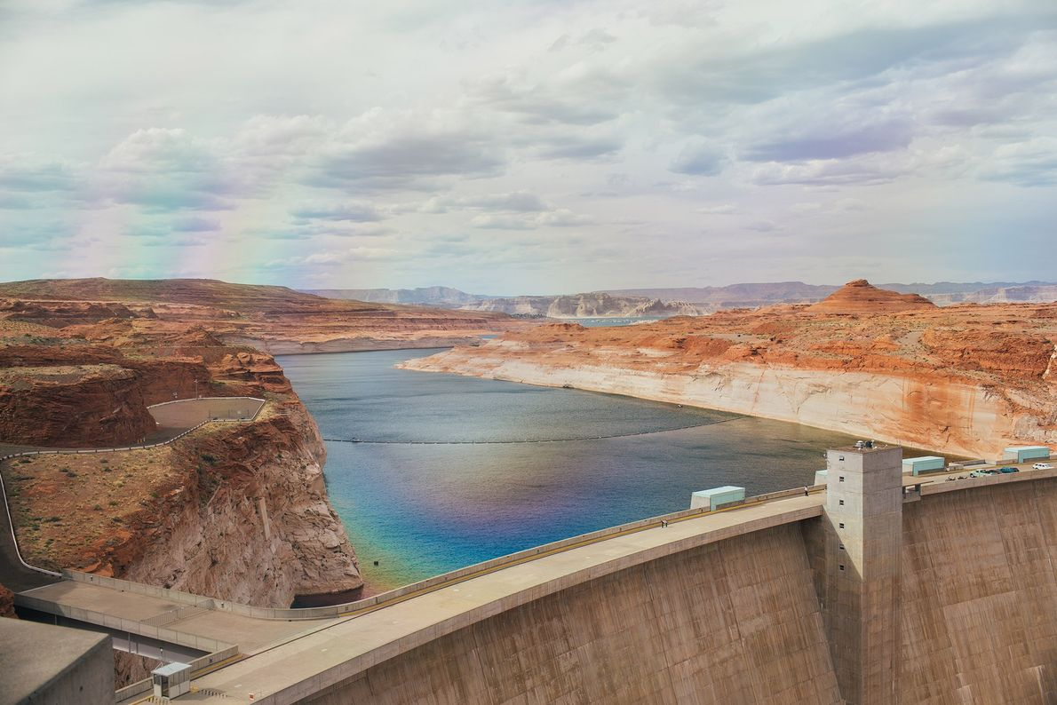 Barrage de Glen Canyon, Arizona