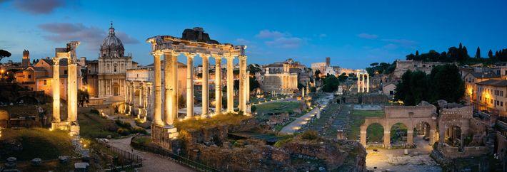 Rome at Their Feet