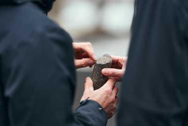 CO2 transformé en roche grâce au processus Carbfix