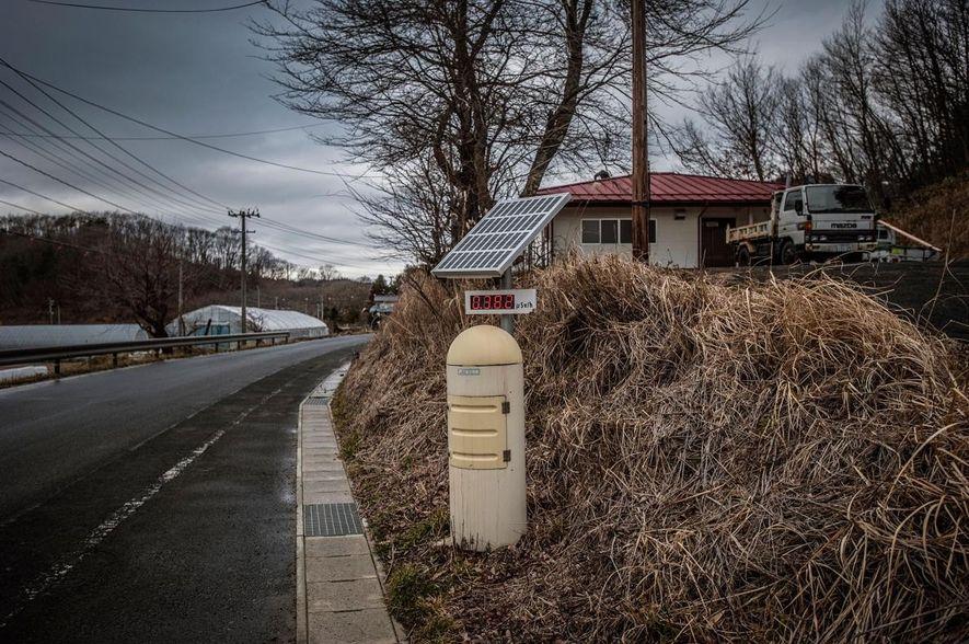 Futaba, le village le plus proche de la centrale nucléaire de Fukushima Daiichi