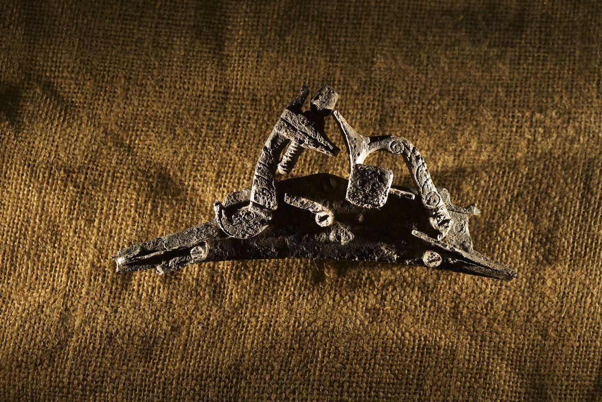 Image d'un pistolet métalisé, de type snaphaunce