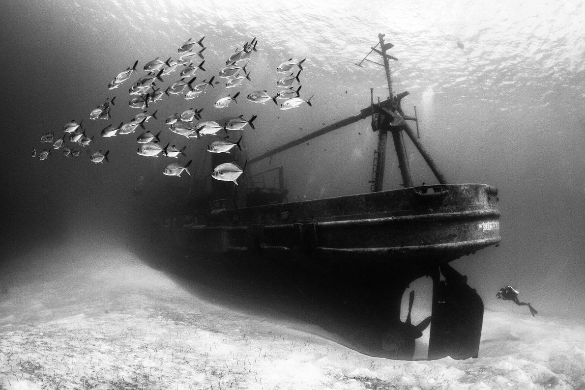 L'épave du USS Kittiwake