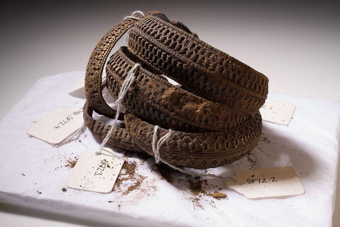 Image de plusieurs anneaux de bras