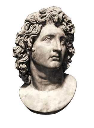 Copie romaine du buste d'Alexandre le Grand datant du 4e siècle avant J.-C. par Lysippe