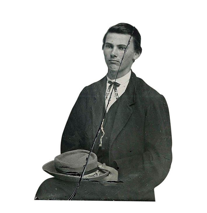 Jesse James, à l'âge de 15 ans.