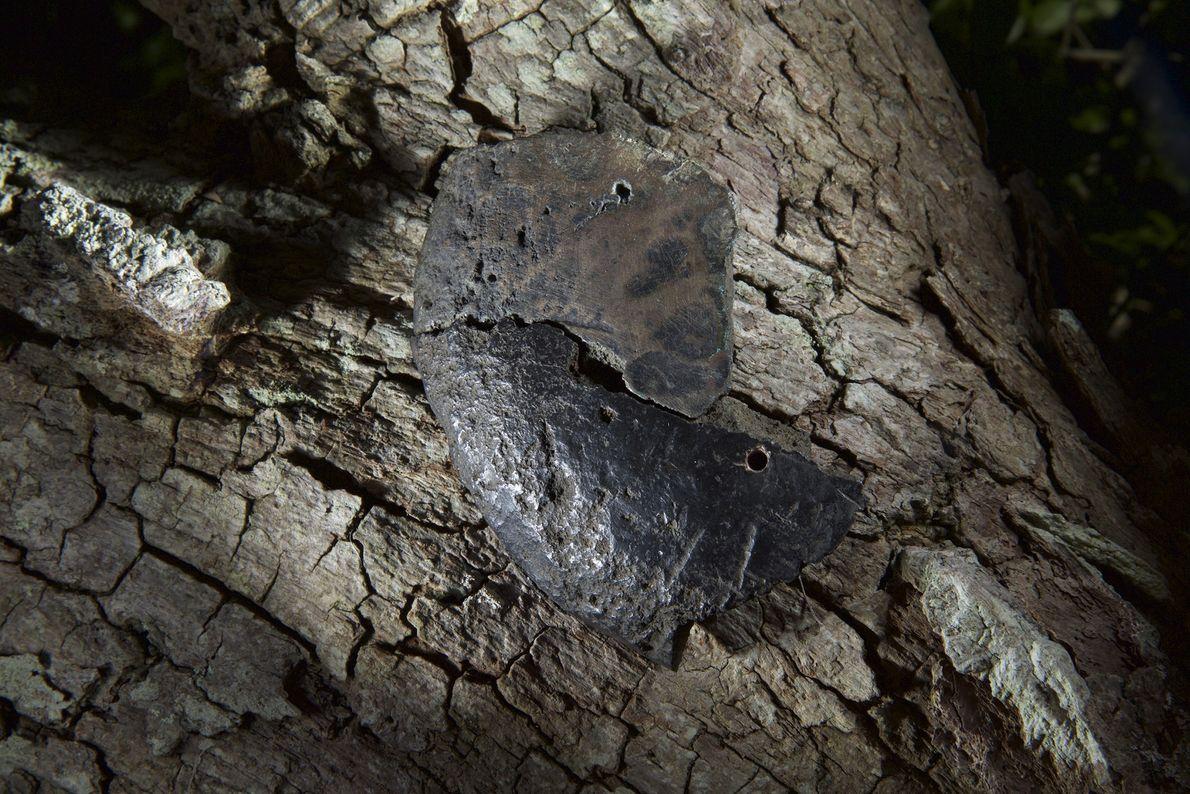 Image d'un lingot en cuivre pur