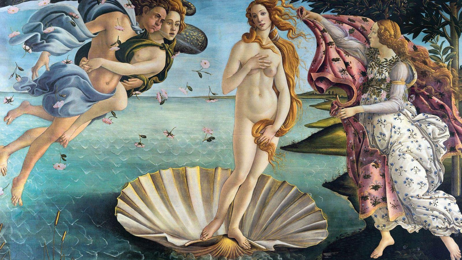 Peut-être son œuvre la plus célèbre, « La Naissance de Vénus » de Botticelli, a été ...