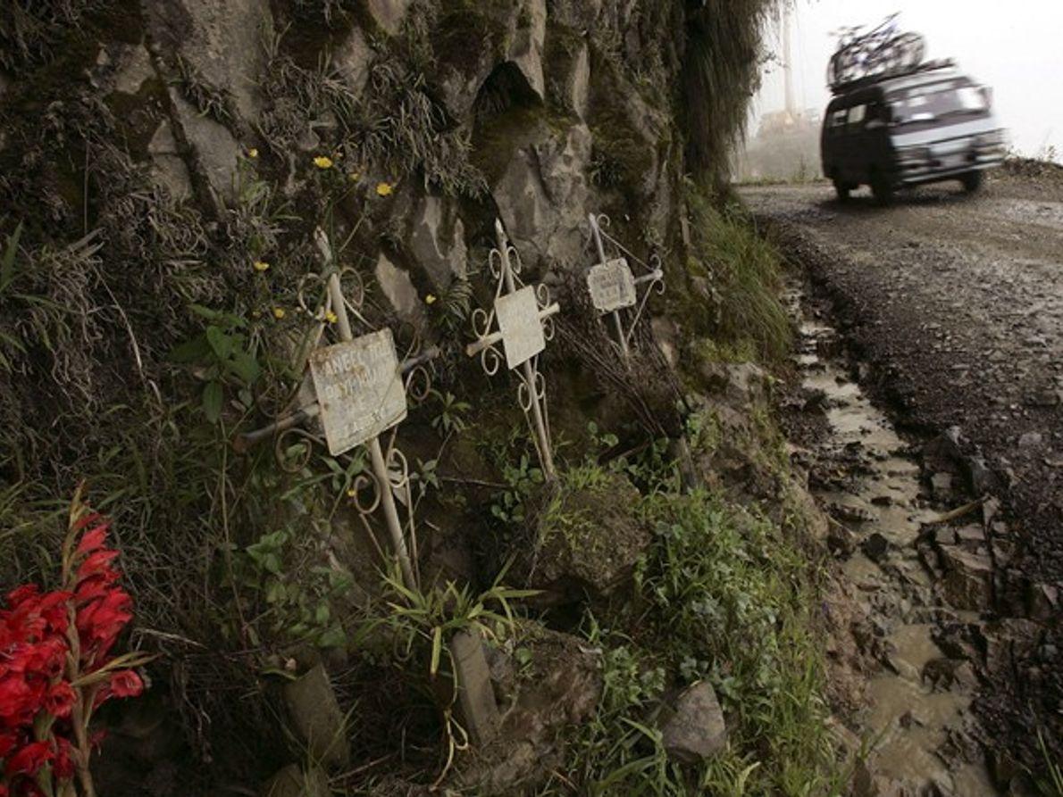 Bolivie: Conduire par un fil