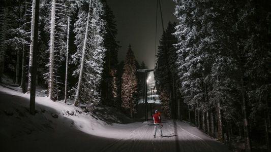 À l'assaut des pistes de ski slovènes