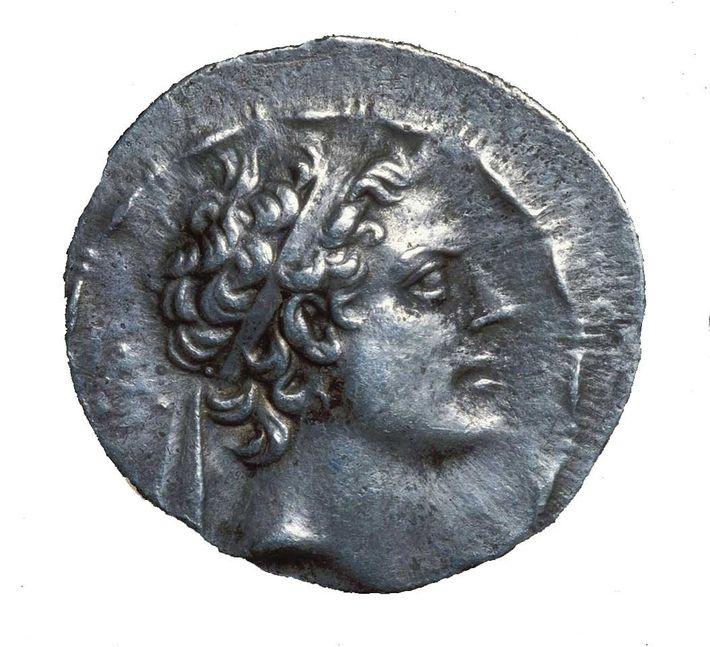 Le roi Antiochos IV Épiphane a régné sur l'Empire séleucide de 175 à 164 avant J.-C.