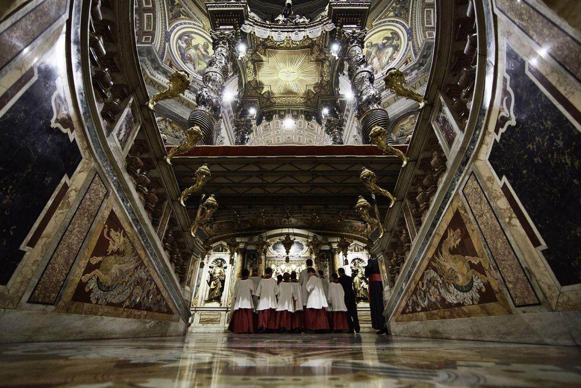 La première tombe pontificale