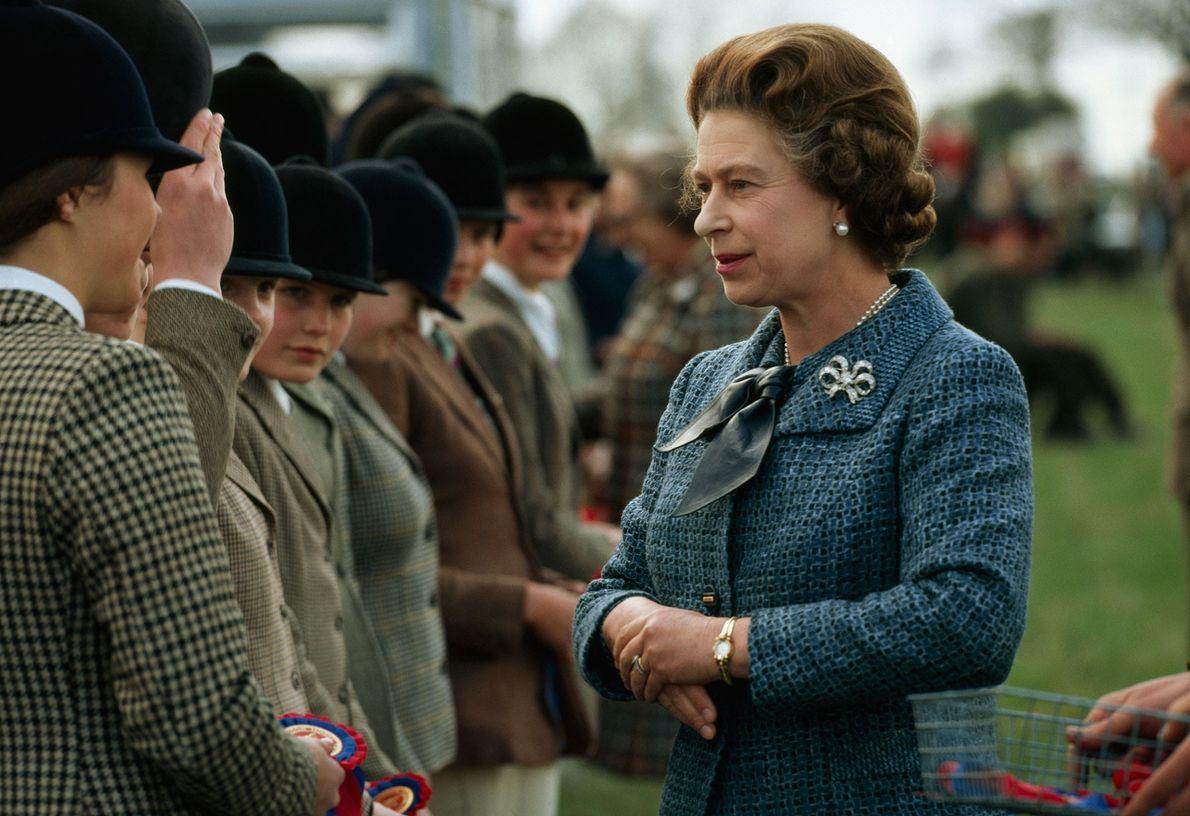 Photo de la Reine Elizabeth II