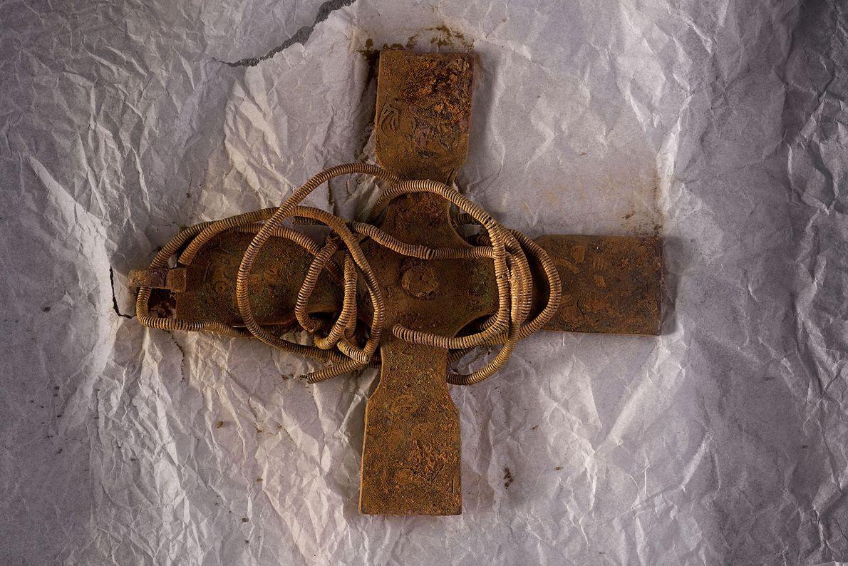 Image d'une croix antique