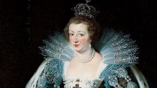 Anne d'Autriche, portrait.
