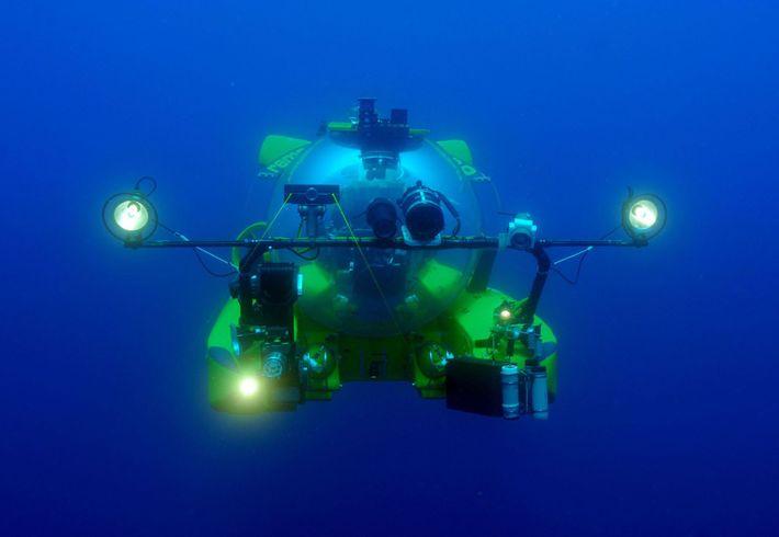 Le sous-marin Rémora 2000.