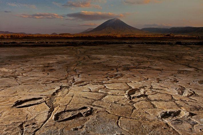 Volcan actif en Tanzanie