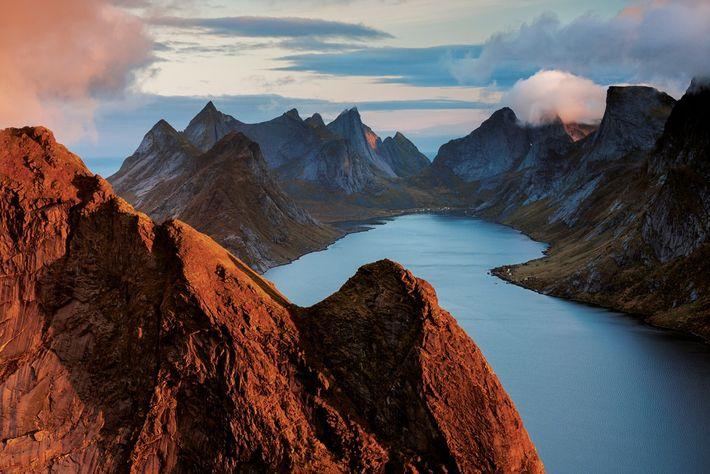 Les rives du Kirkefjord