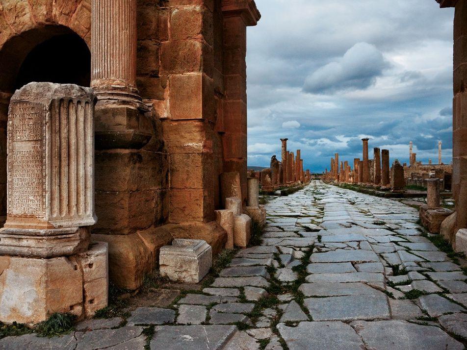 Ce qu'il reste des frontières de l'Empire romain en Europe