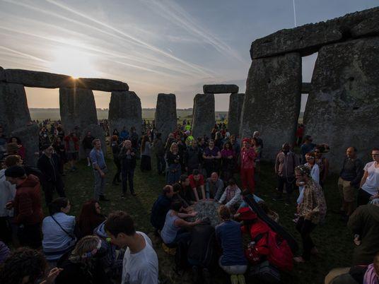 Les célébrations du solstice d'été en images