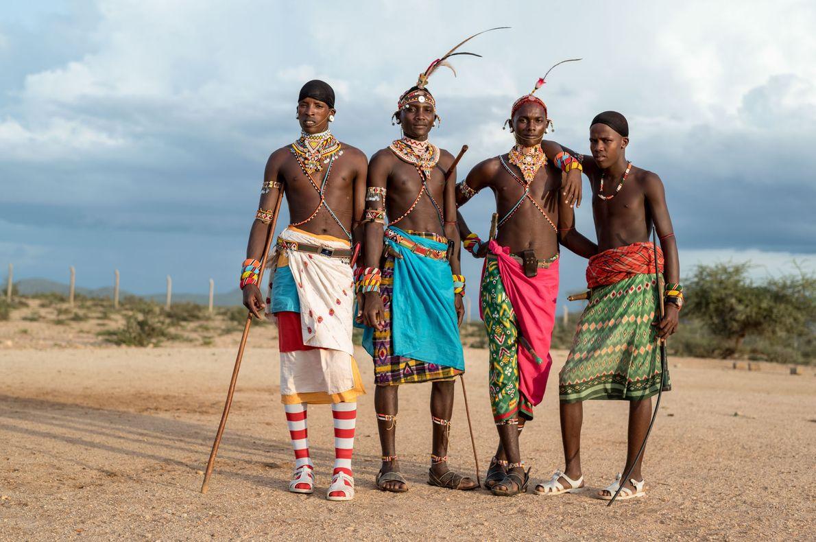 Les guerriers Samburu dont les femmes vont à l'école.