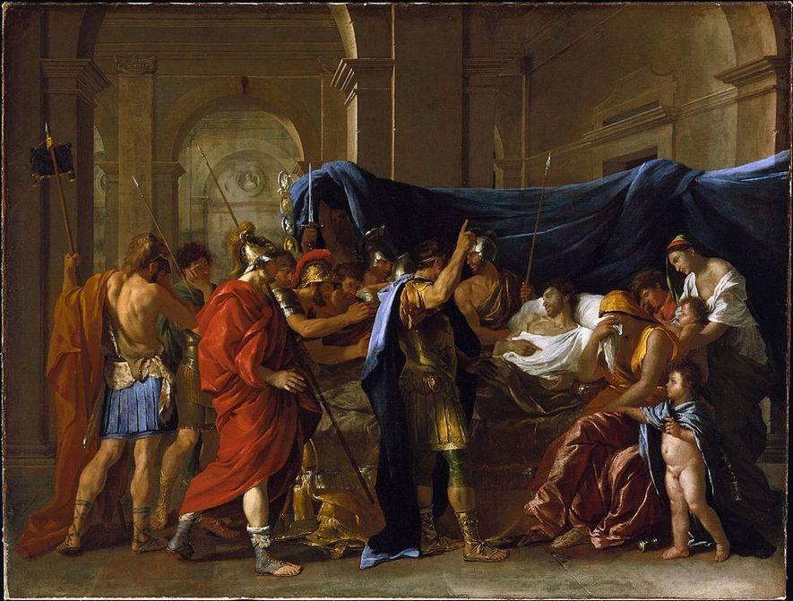 La Mort de Germanicus est un tableau peint en 1627-1628 par Nicolas Poussin pour Francesco Barberini. ...