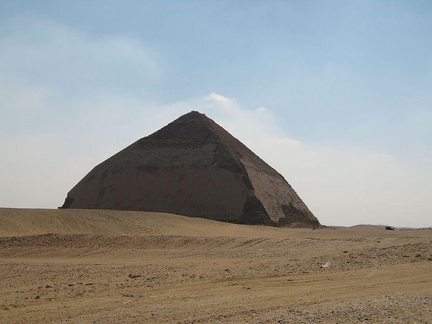 La pyramide de Snefrou.