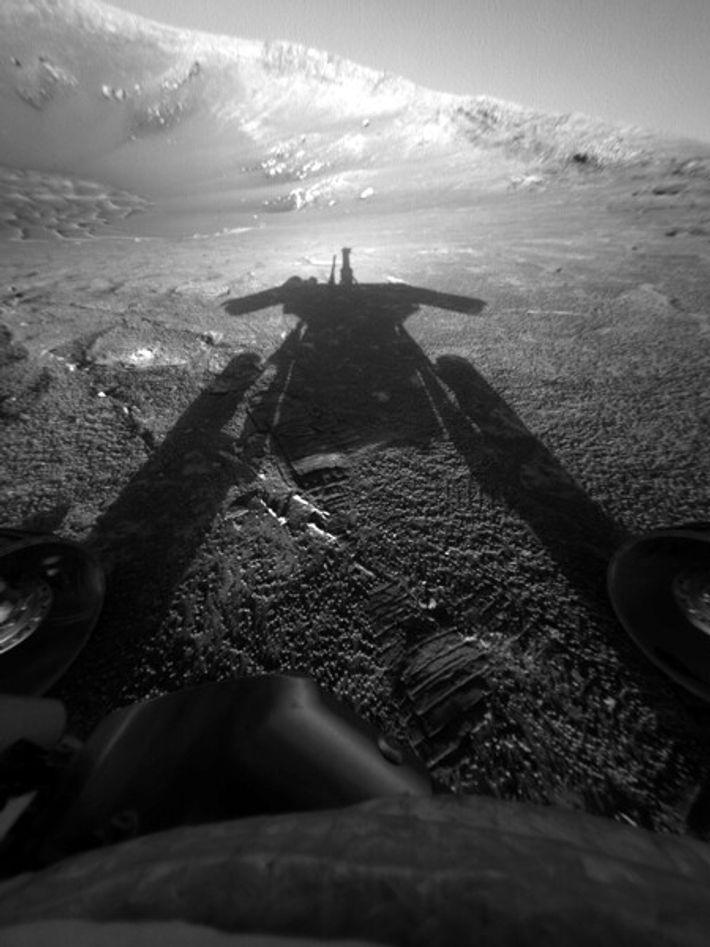 Surface de Mars.
