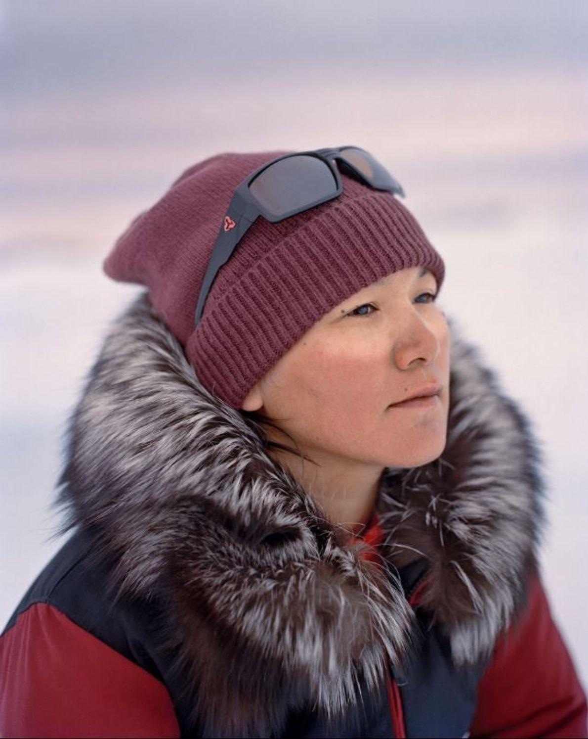 Âgée de 30 ans, Marie Naqitarvik n'a pas totalement reçu les enseignements liés à la chasse ...