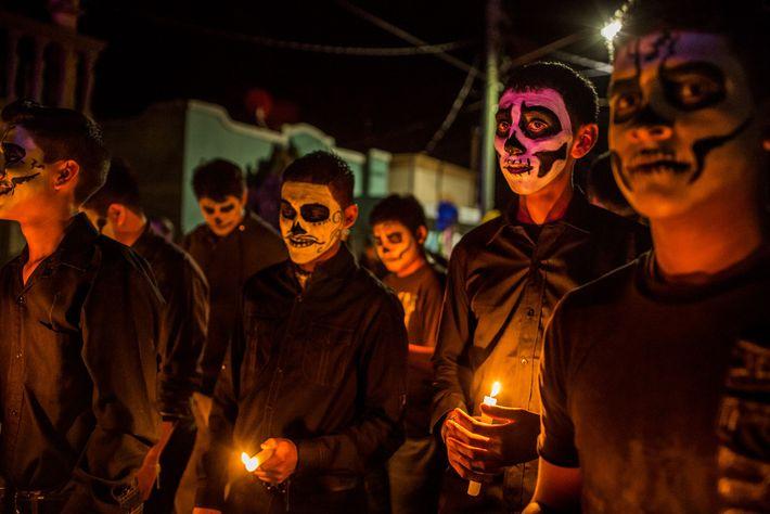 En 2011, le cartel de Los Zetas a tout détruit lors de son passage à Allende ...