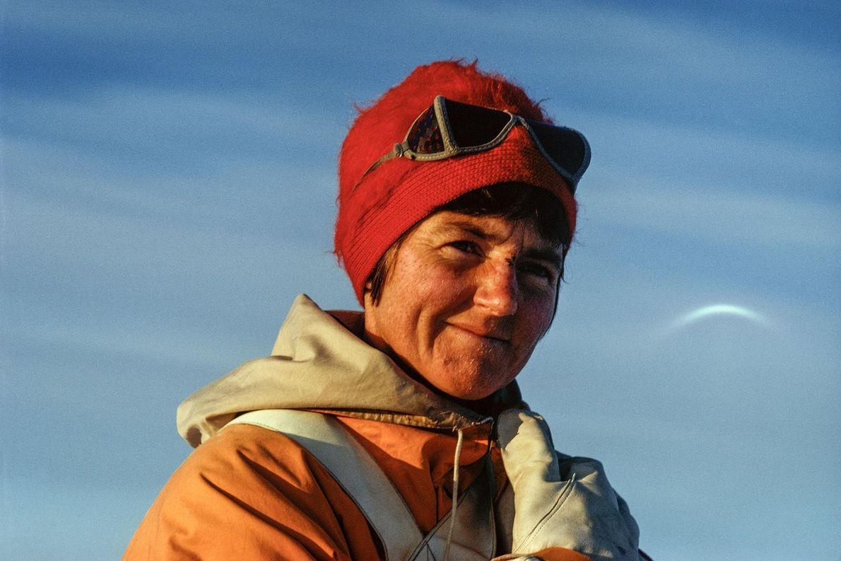 Ce portrait de Myrtle Simpson a été pris au cours d'une expédition.