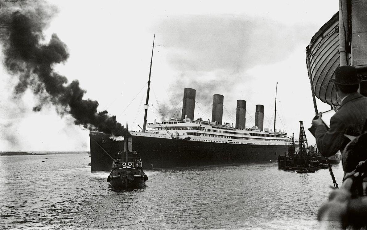 Départ du port de Southampton