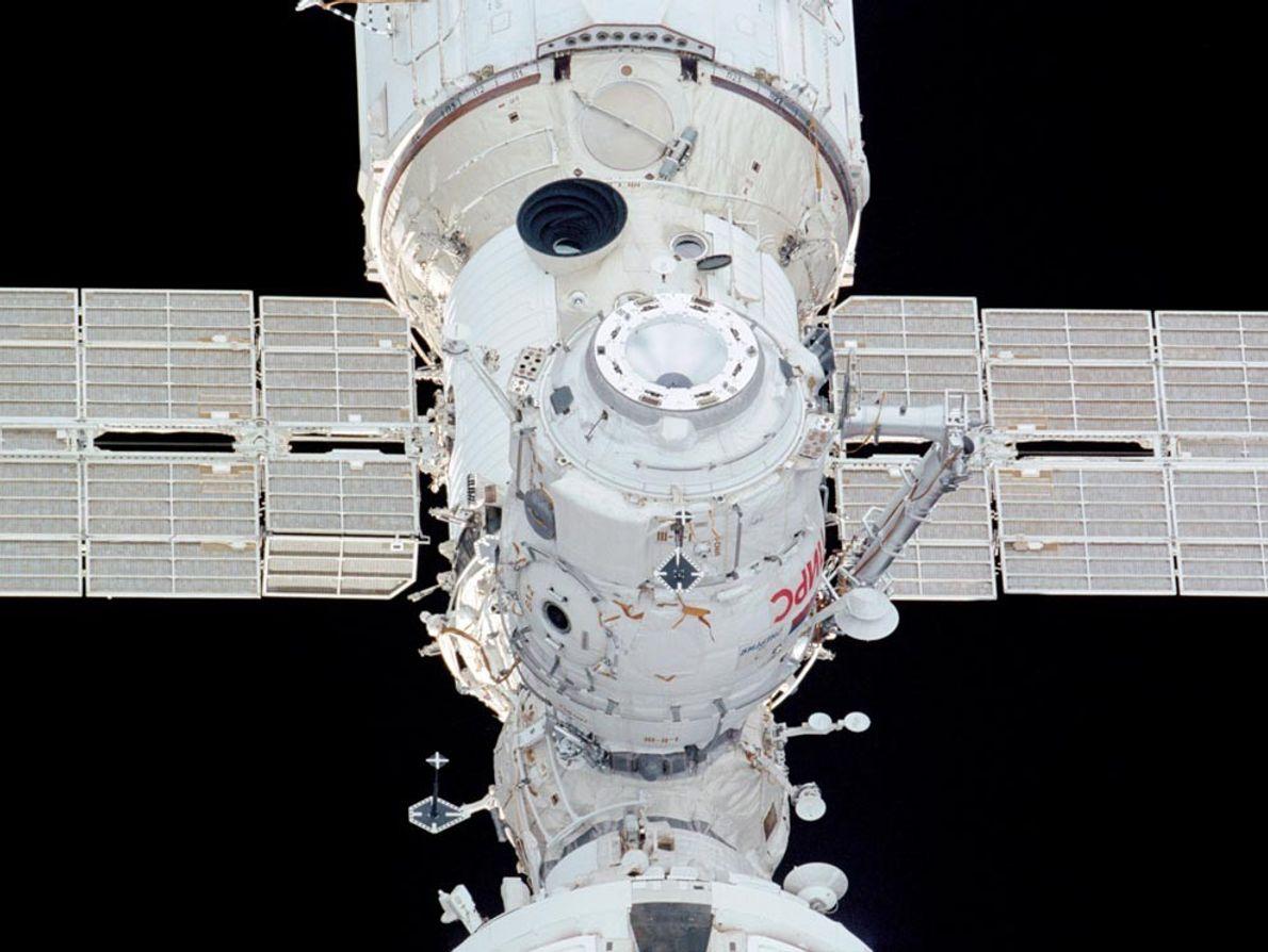 C'est un membre de l'équipage de la navette spatiale Endeavour qui a pris ce cliché du ...