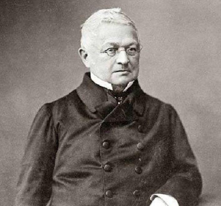 Portrait d'Adolphe Thiers.
