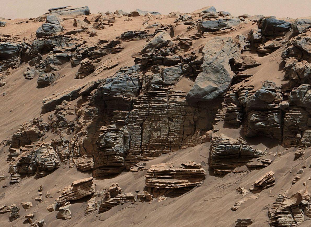Lac martien