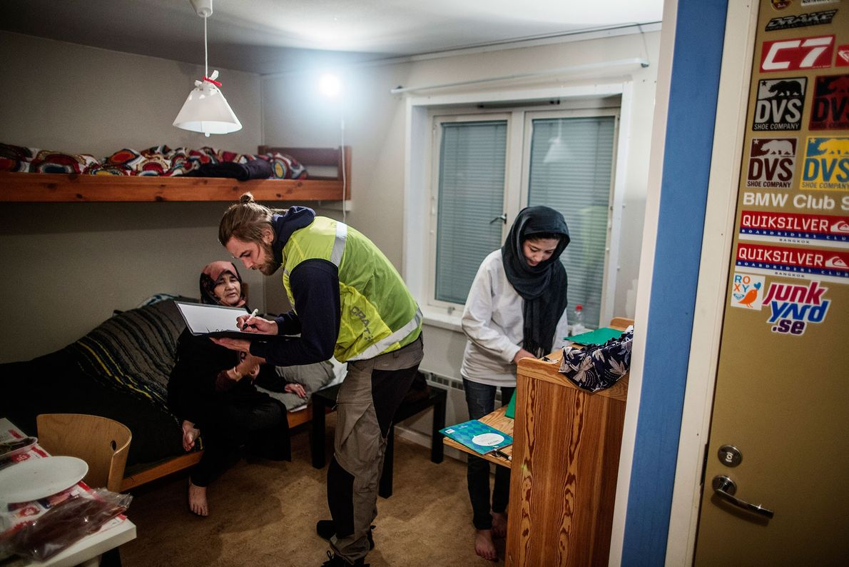 Image de Peter Nilsson qui a commencé à travaillé à Riksgränsen depuis l'été 2015