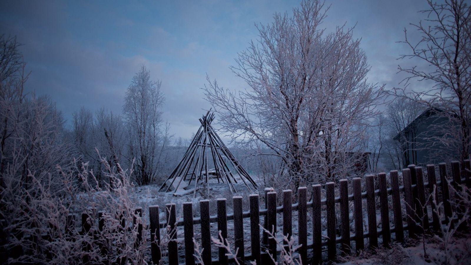 Les lávut, tentes du peuple Sami