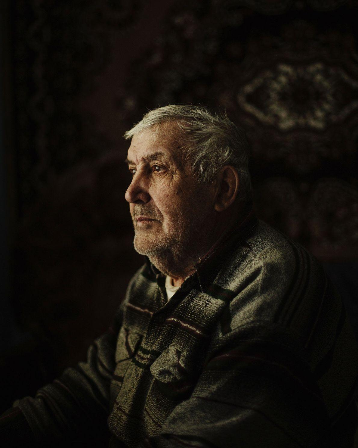Ivan Vladimirovic Angelov est l'un des survivants de la famine moldave qui a frappé le pays ...