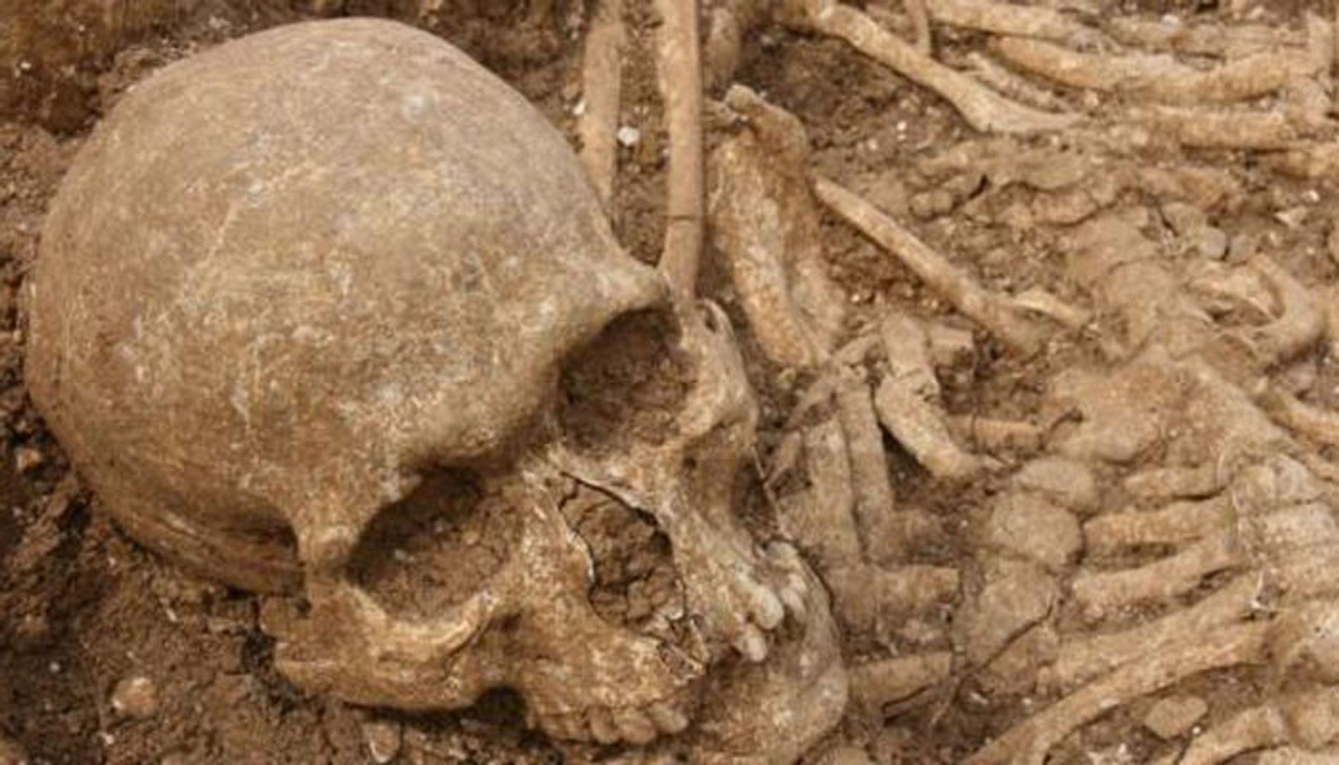 La tombe de Ridgeway Hill contenait les corps de 54 Vikings, tous décapités.