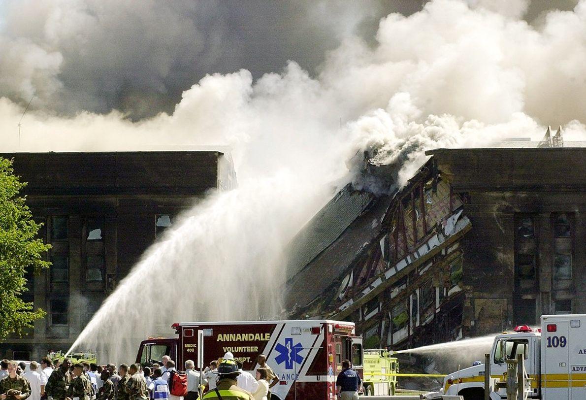 Incendie au Pentagone