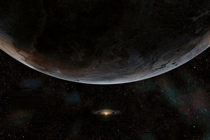 Durant le chaos primaire du système solaire, Jupiter aurait projeté des billions de comètes (voire quelques ...