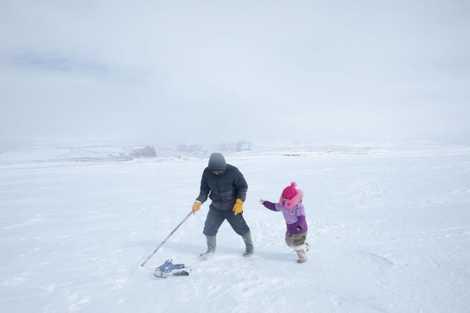 Les traditions printanières des Inuits en images