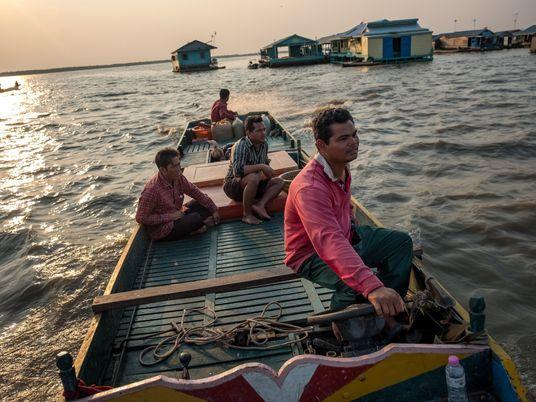 Le plus grand lac du Cambodge est en train de se dessécher, menaçant forêts et poissons