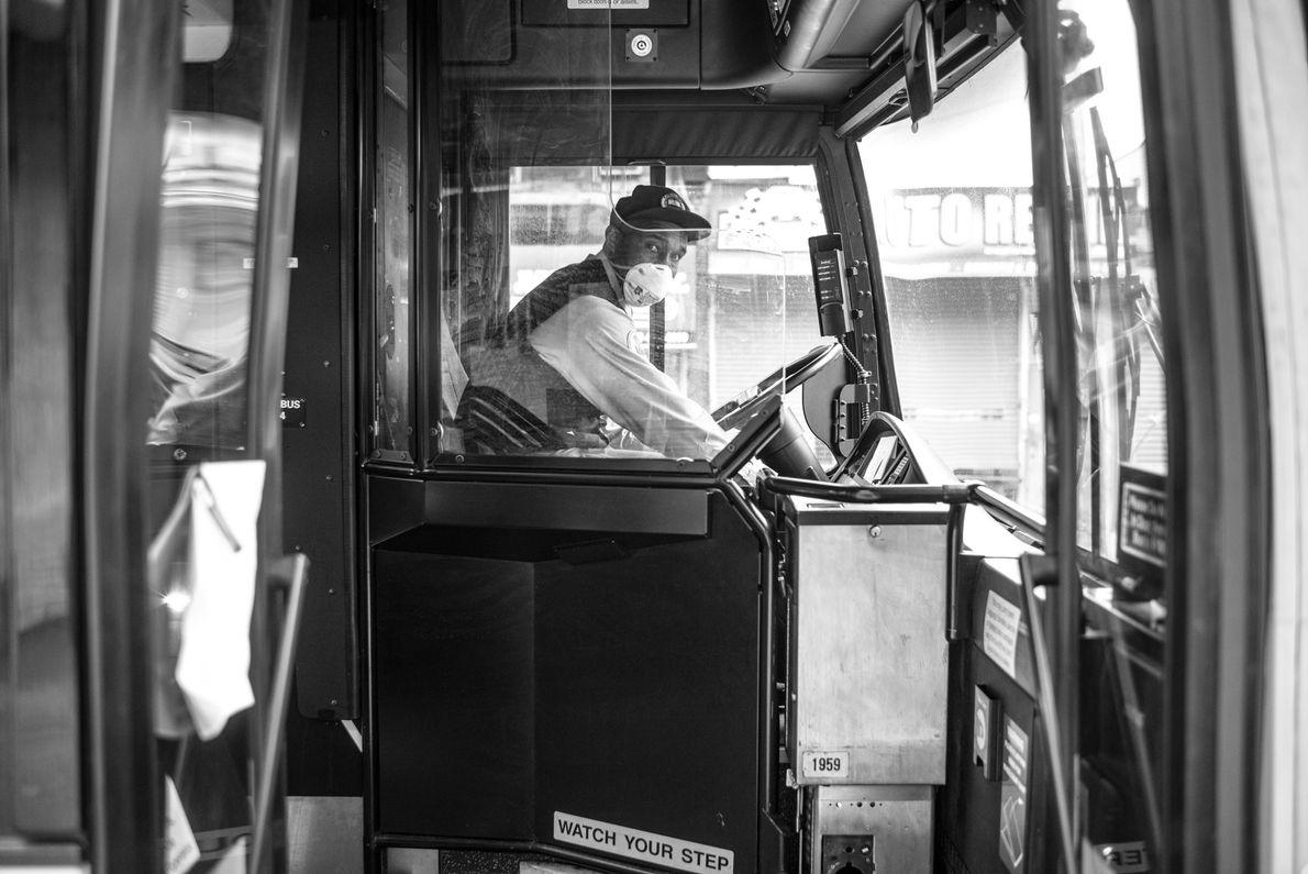 Almoth Hoyte, conducteur auprès de la Metropolitan Transportation Authority (MTA) de New York avoue être constamment hanté ...