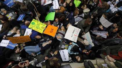 ''March for our live'' - les images des manifestations à travers le monde