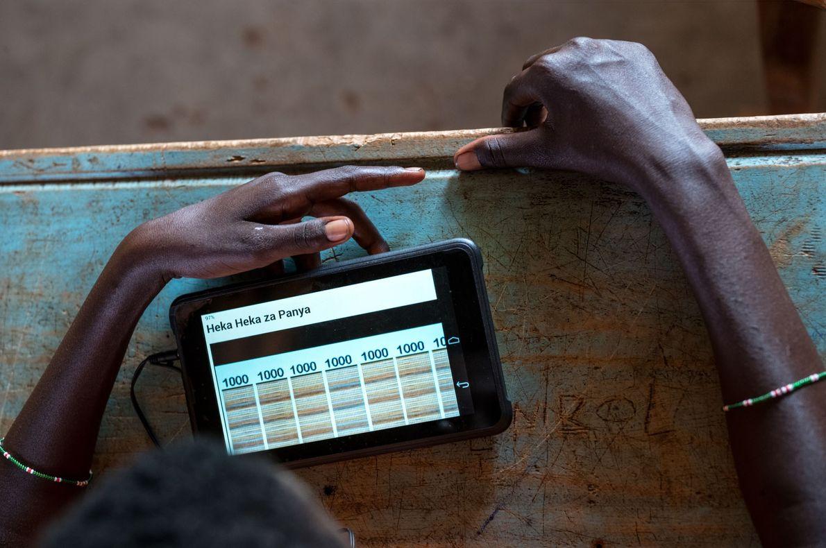 Le contenu multimédia sur les tablettes est conçu pour être facile d'utilisation et consiste à trouver ...